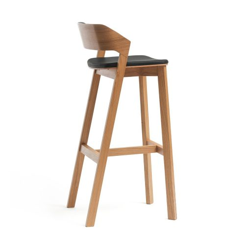 Nova Interiors Merano High Stooll 314 403 With Upholstered Seat Pad