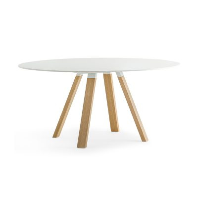 Nova Interiors Arki-Table Wood Coffee Table Round