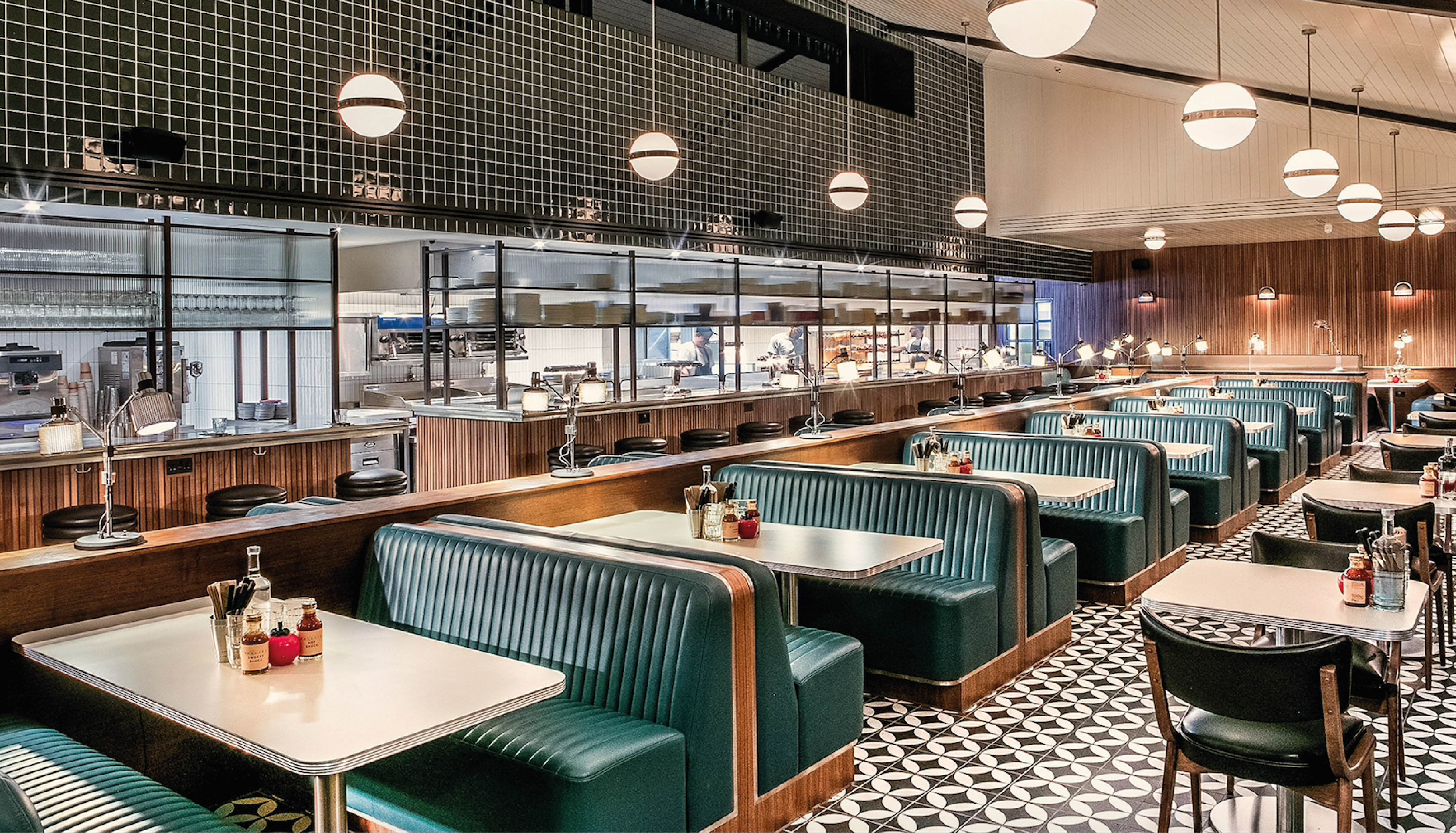 Nova Interiors Mollie's Motel & Diner