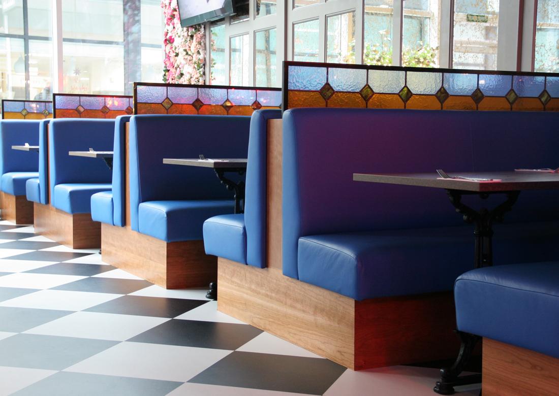 Nova Interiors Moretown Belle Plain Back Banquette