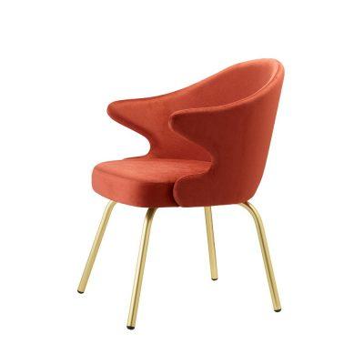 Nova Interiors You Armchair 2807 Brass