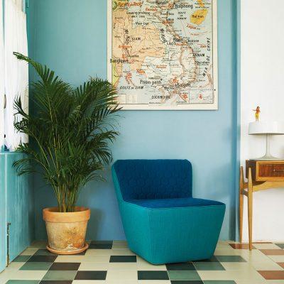 Nova Interiors 250.51.G Tea Quilted Lounge Context