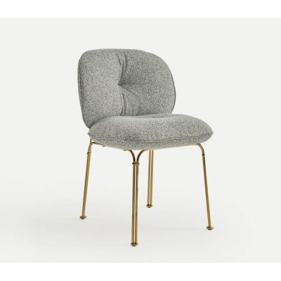 Nova Interiors 320.41 Mullit Metal Structure Chair In Gold