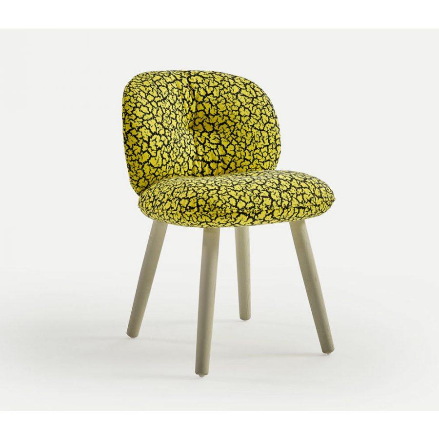 Nova Interiors 320.41.6 Mullit Chair With Wooden Feet