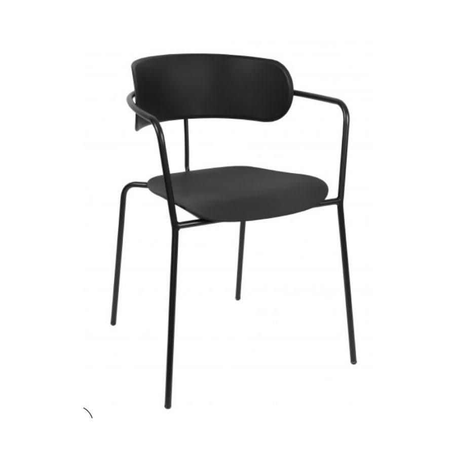 Nova Interiors Barbican Armchair 360550 Black
