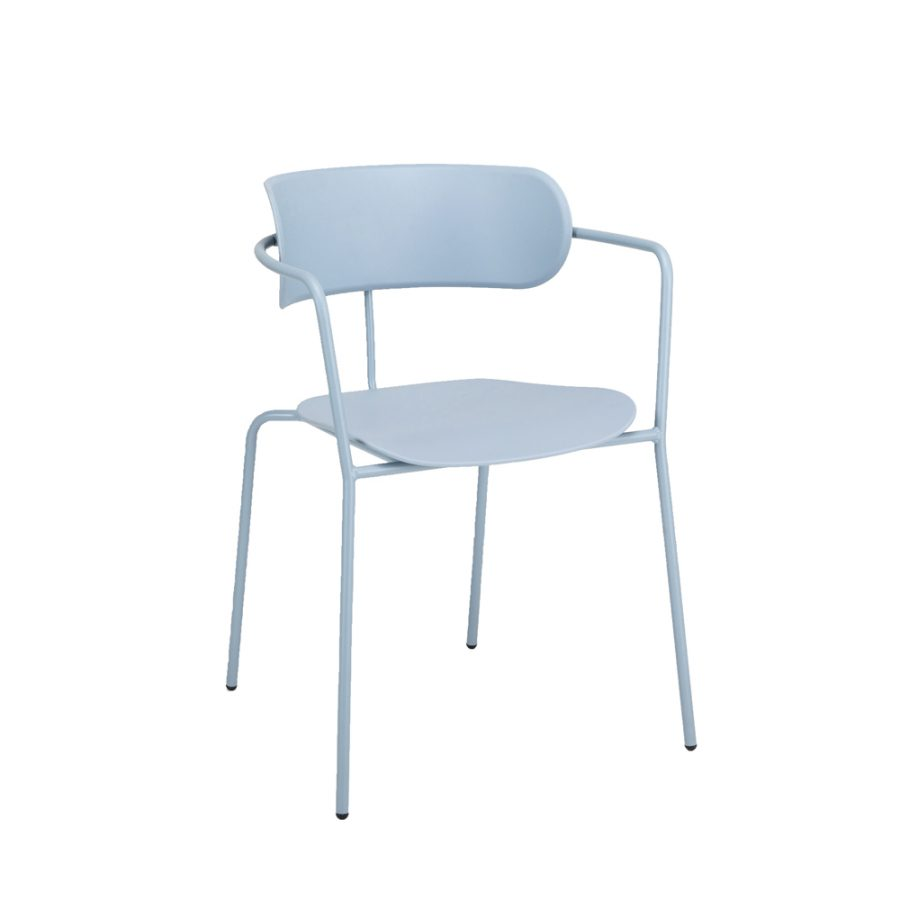 Nova Interiors Barbican Armchair 360550 Pastel Blue