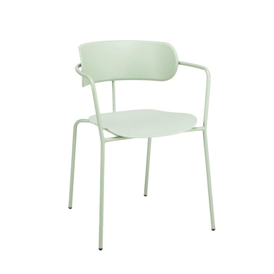 Nova Interiors Barbican Armchair 360550 Pastel Green