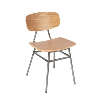 Nova Interiors Florence Side Chair 332543 Steel Legs