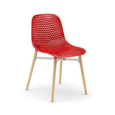 Nova Interiors Next Chair Indoor Red