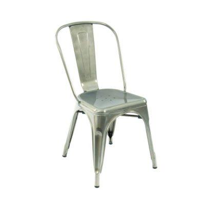 Nova Interiors Paris Side Chair 331905 Gunmetal