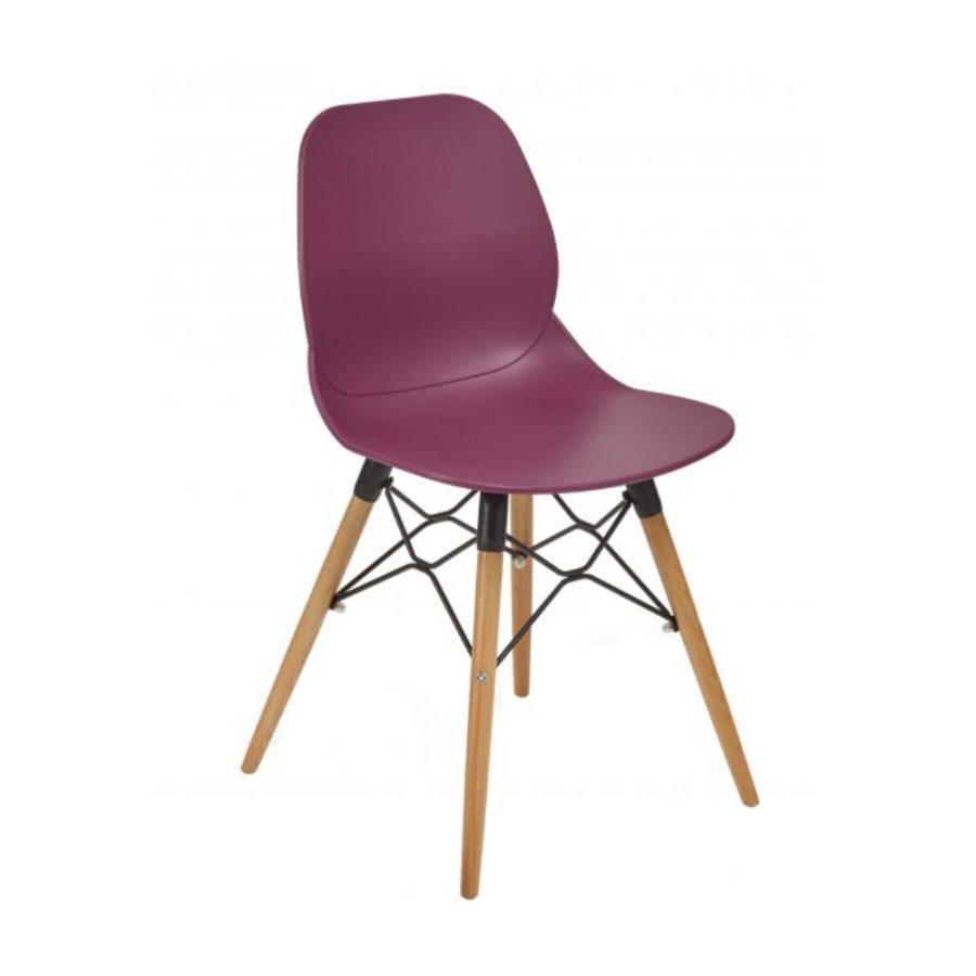Nova Interiors Shoreditch Side Chair K Frame Beech 360037