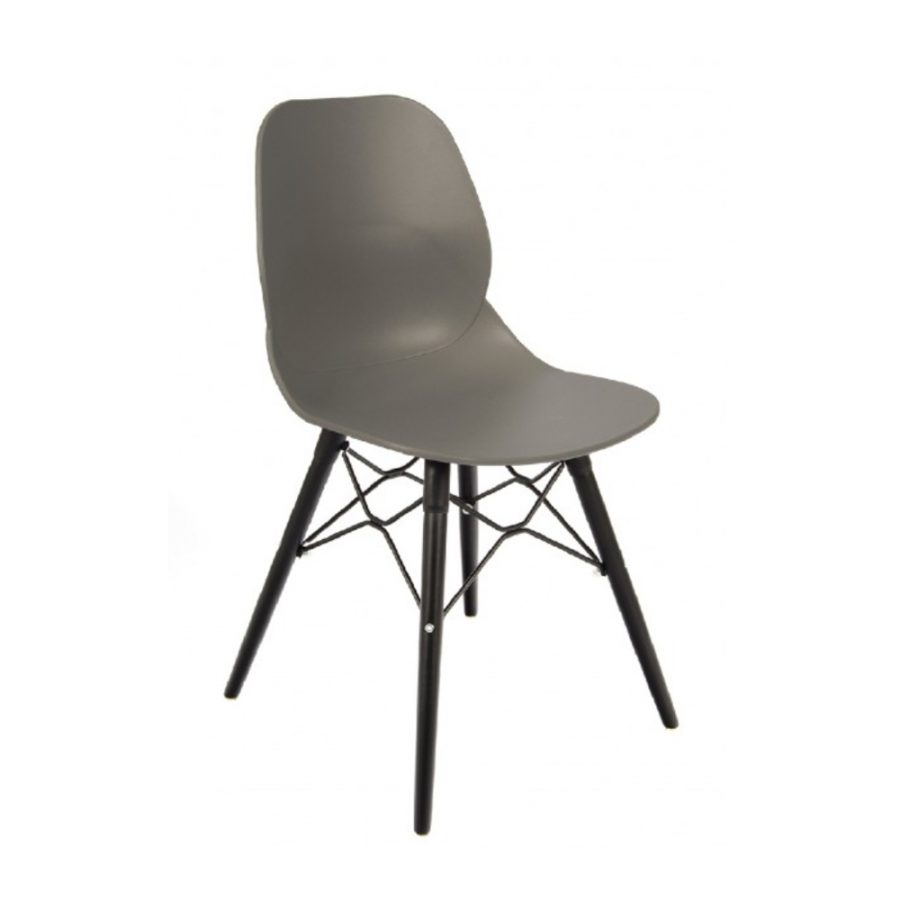 Nova Interiors Shoreditch Side Chair K Frame Black 360039